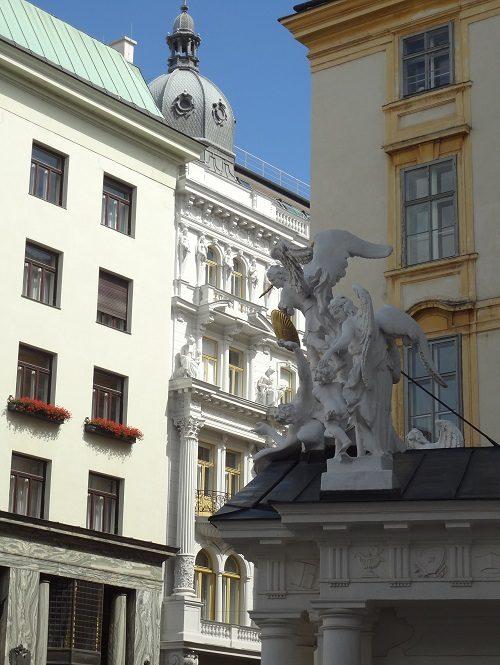 Wien Michaelerkirche - historische Stadtführung Wiener Altstadt