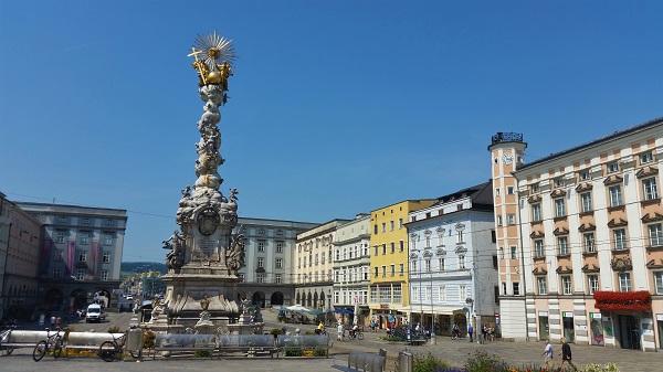 Linz Oberösterreich Pestsäule