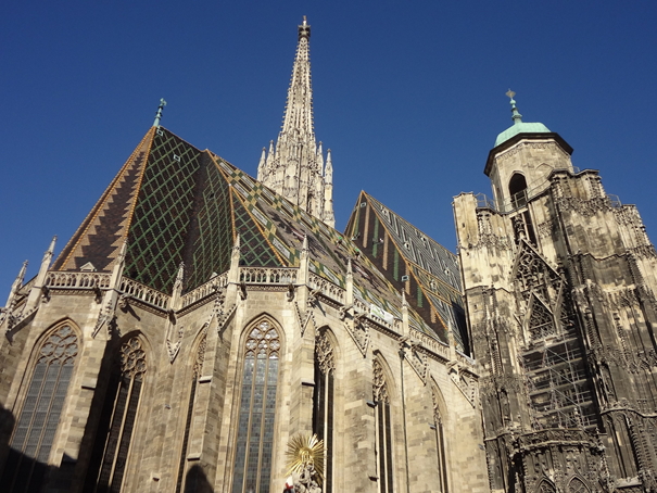 Stadtrundfahrt und Stadtspaziergang Wien Wiener Stephansdom