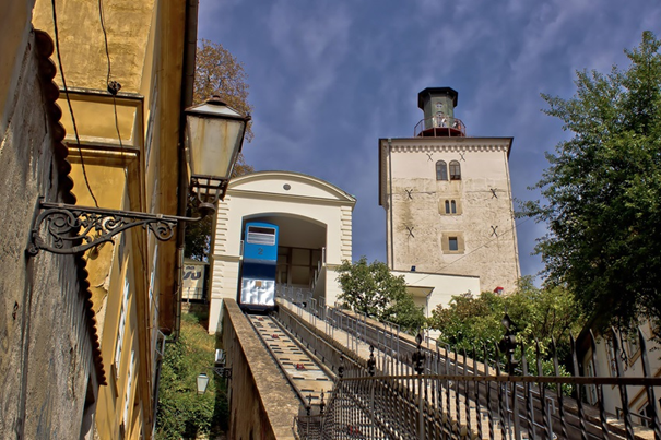 Zagreb Stadtführung Standseilbahn